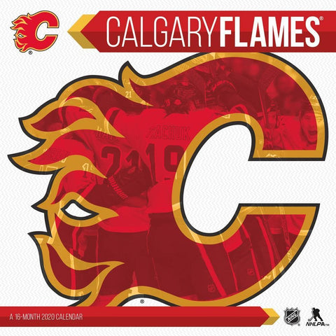NHL Calgary Flames 2020 Wall Calendar Front Cover