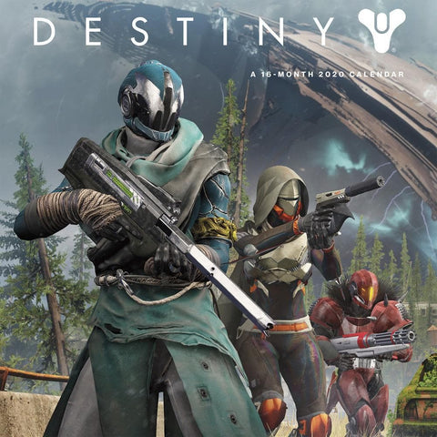 Destiny 2020 Wall Calendar Front Cover
