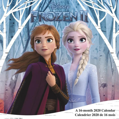 Disney Frozen 2 2020 Wall Calendar