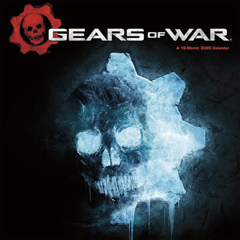 Gears of War 2020 Wall Calendar Front Cover