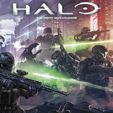Halo 2020 Wall Calendar Front Cover