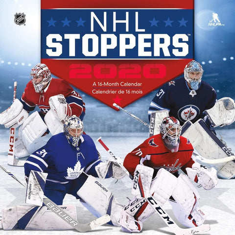 NHL Stoppers 2020 Wall Calendar Front Cover