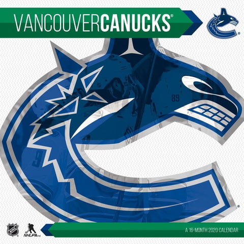NHL Vancouver Canucks 2020 Wall Calendar Front Cover