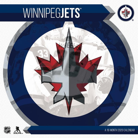 NHL Winnipeg Jets 2020 Wall Calendar Front Cover