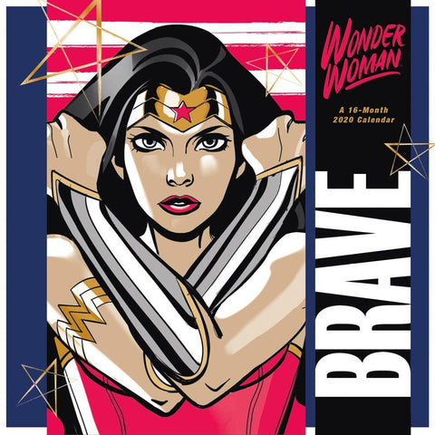 Wonder Woman 2020 Wall Calendar Front Cover
