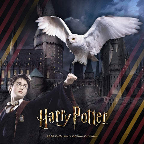 Harry Potter Collectors Edition 2020 Wall Calendar Front Cover