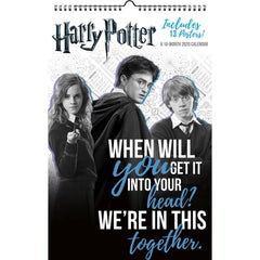 Harry Potter 2020 Poster Calendar Front Cover