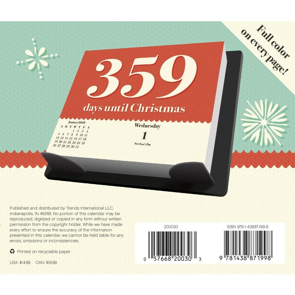 How Many Days Until Christmas 2020.Countdown To Christmas 2020 Box Calendar Online Exclusive