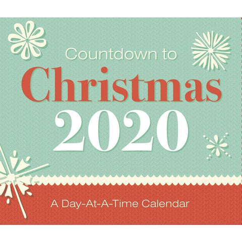 Countdown to Christmas 2020 Box Calendar Front Cover
