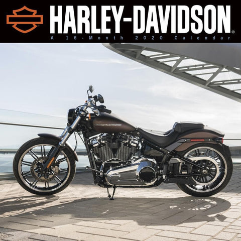 Harley Davidson CC Cover 2020 Wall Calendar Front Cover