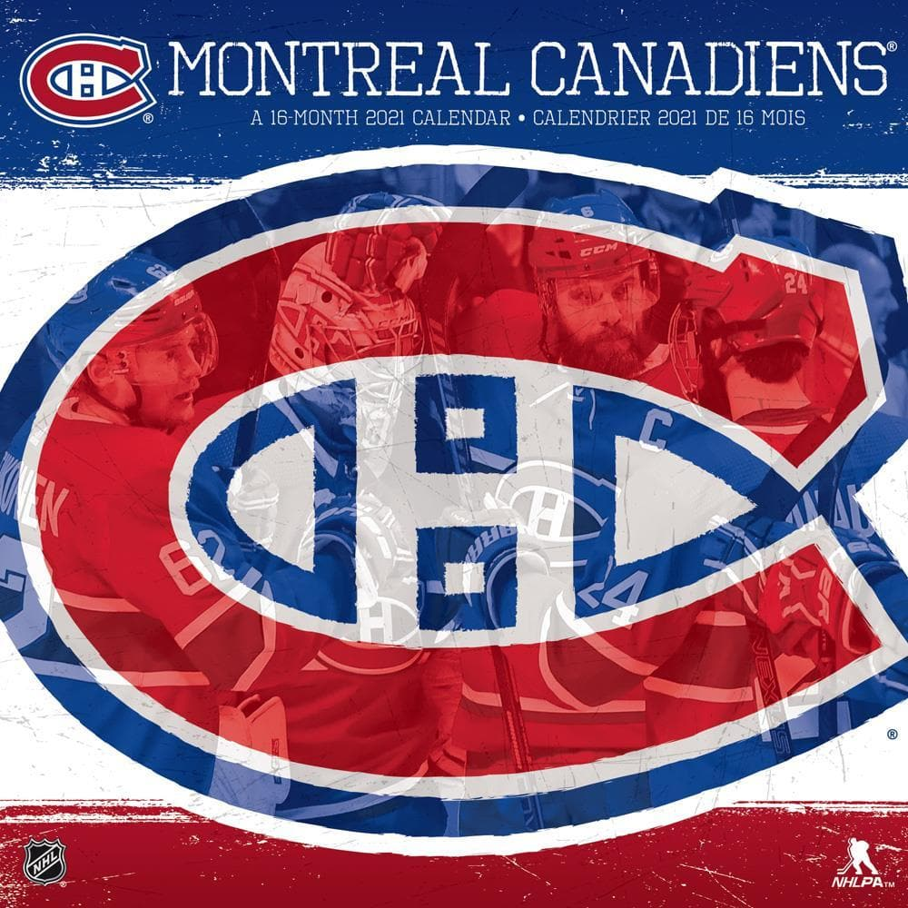 NHL Montreal Canadiens 2021 Wall Calendar by Trends International