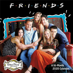 Friends Special Edition 2020 Wall Calendar Front Cover