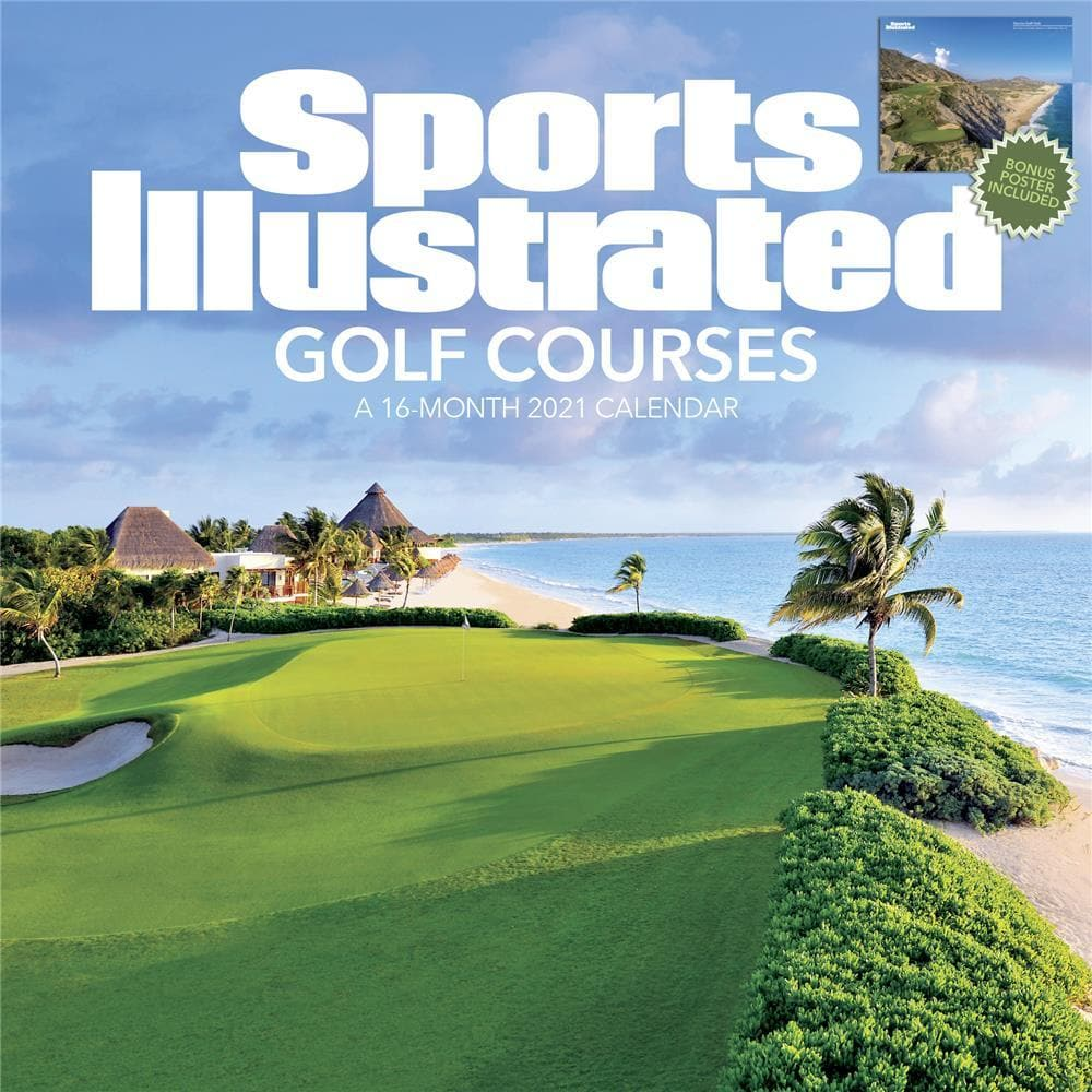 SI Golf Courses Exclusive Cover 2021 Wall Calendar by Trends