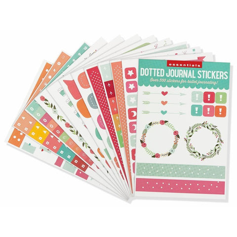Dotted Journal 2020 Calendar Planner Stickers Front Image