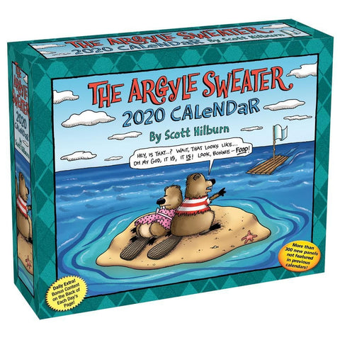 Argyle Sweater 2020 Box CalendarFront Cover