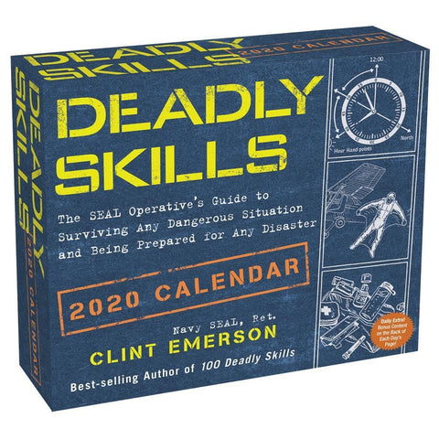 Deadly Skills 2020 Box Calendar Front Cover