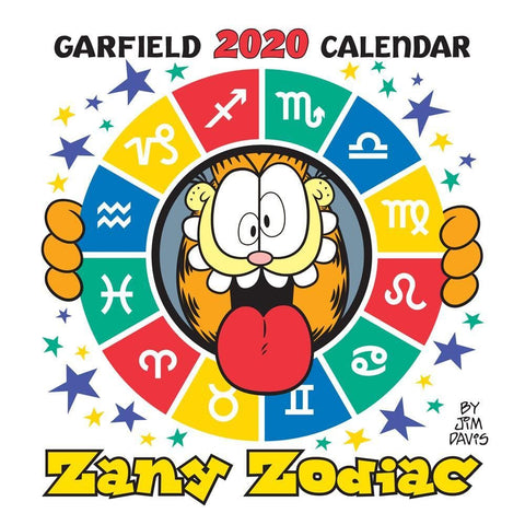 Garfield 2020 Mini Calendar Front Cover