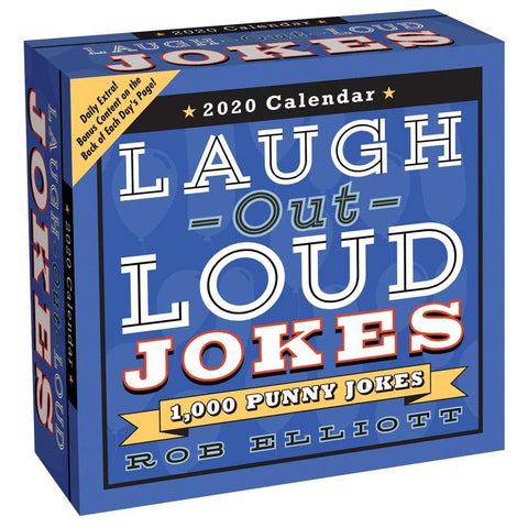 Laugh Out Loud Jokes 2020 Box Calendar Front Cover