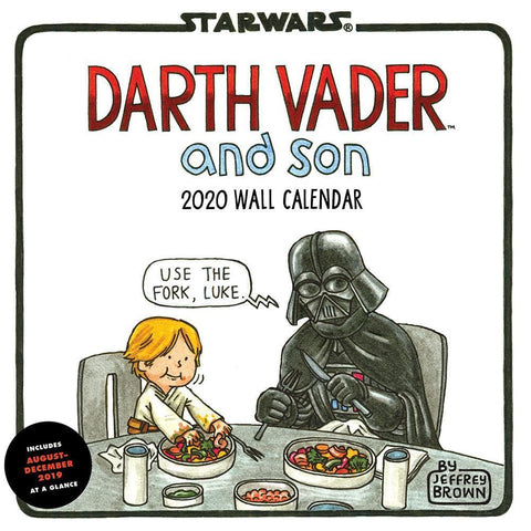Darth Vader and Son 2020 Wall Calendar Front Cover