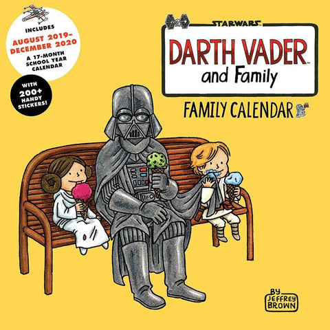 Darth Vader and Family 2020 Wall Calendar Front Cover