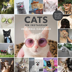 Cats on Instagram 2020 Wall Calendar Front Cover