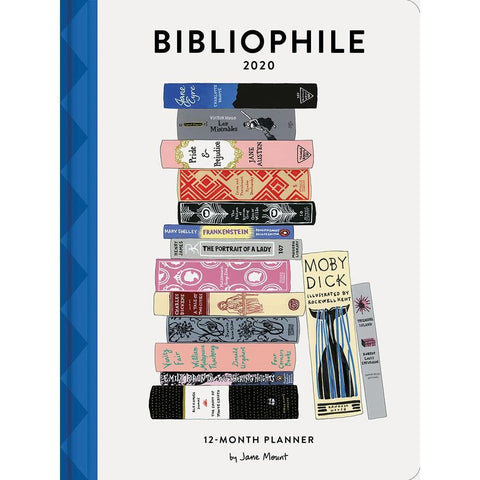 Bibliophile 2020 Engagement Calendar Front Cover