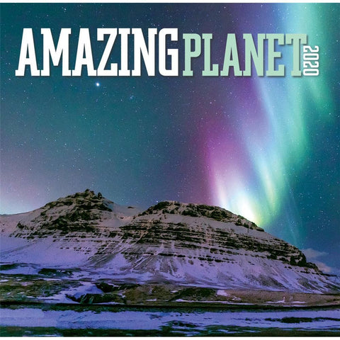 Amazing Planet 2020 Mini Calendar Front Cover