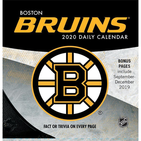 NHL Boston Bruins 2020 Box Calendar