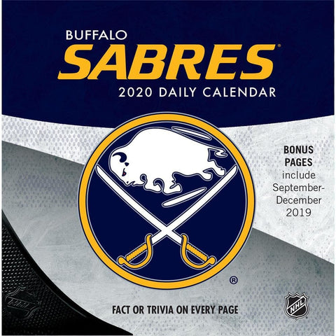 NHL Buffalo Sabres 2020 Box Calendar - Online Exclusive