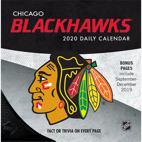 NHL Chicago Blackhawks 2020 Box Calendar