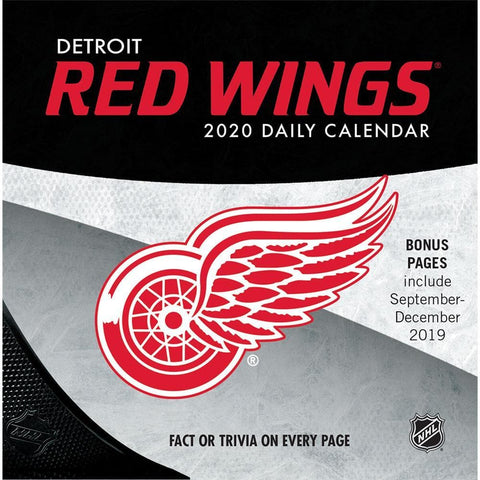 NHL Detroit Red Wings 2020 Box Calendar