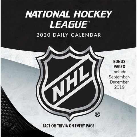 NHL All Team 2020 Box Calendar