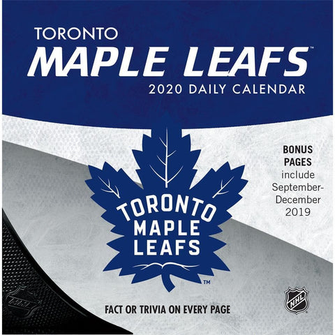 NHL Toronto Maple Leafs 2020 Box Calendar