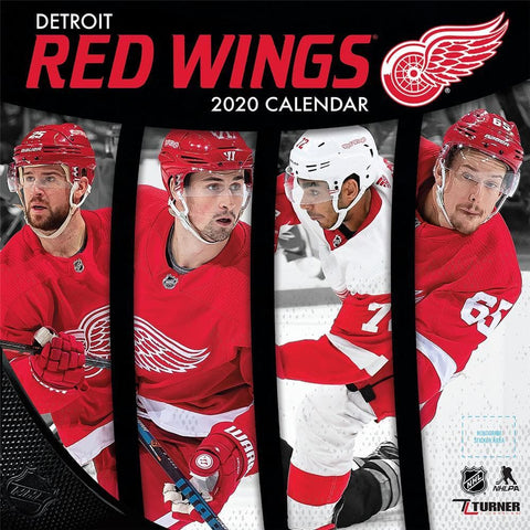 NHL Detroit Red Wings 2020 Mini Calendar Front Cover
