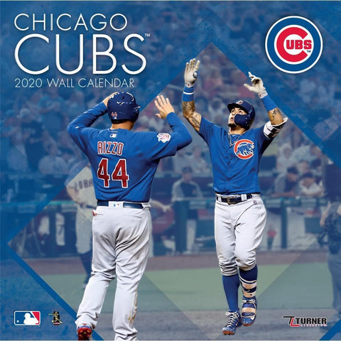 MLB Chicago Cubs 2020 Wall Calendar - Online Exclusive Front Cover