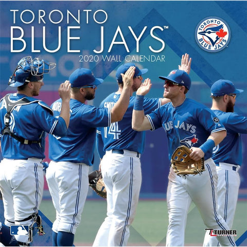 MLB Toronto Blue Jays 2020 Wall Calendar Front Cover