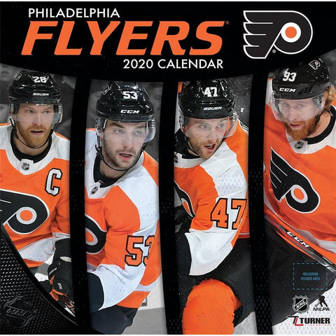 NHL Philadelphia Flyers 2020 Wall Calendar Front Cover