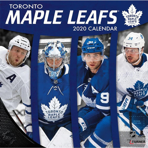 NHL Toronto Maple Leafs 2020 Wall Calendar Front Cover