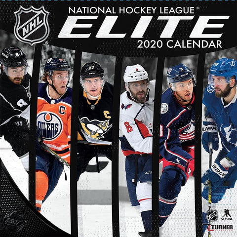 NHL Elite 2020 Wall Calendar Front Cover