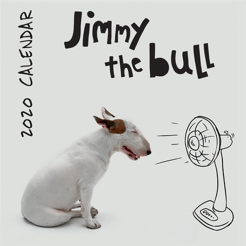 Jimmy the Bull 2020 Wall Calendar Front Cover