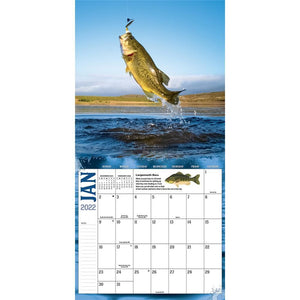 Fish On 2022 Wall Calendar Product Image