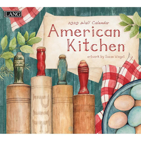 American Kitchen 2020 Wall Calendar Front Cover