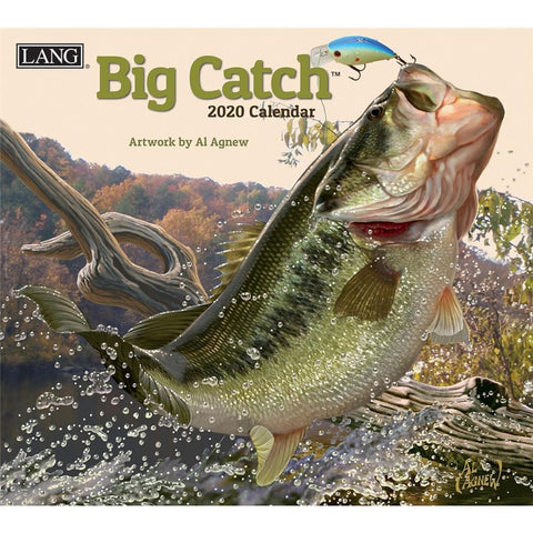 Big Catch 2020 Wall Calendar Front Cover