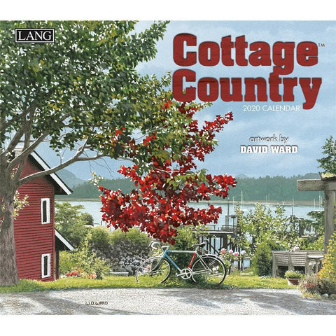 Cottage Country 2020 Wall Calendar Front Cover