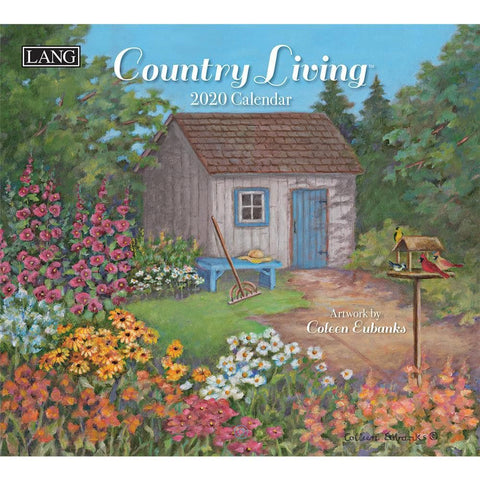 Country Living 2020 Wall Calendar Front Cover