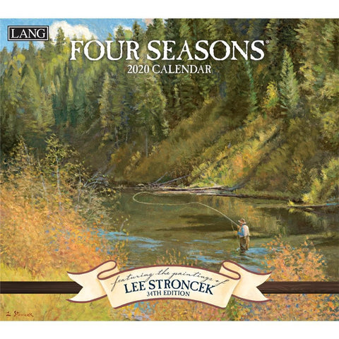 Four Seasons 2020 Wall Calendar Front Cover