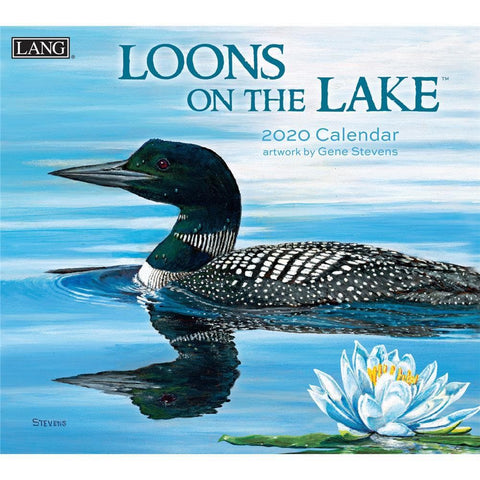 Loons on the Lake 2020 Wall Calendar Front Cover