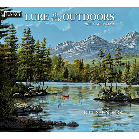 Lure Of The Outdoors 2020 Wall Calendar Front Cover