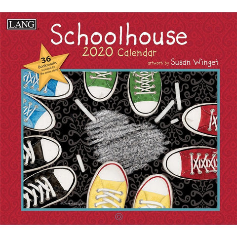 Schoolhouse 2020 Wall Calendar Front Cover