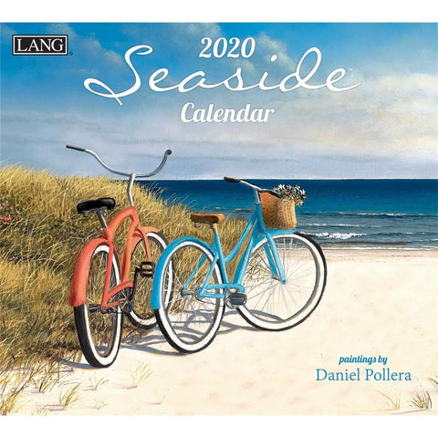Seaside 2020 Wall Calendar Front Cover